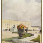 Parc du Palais de Versailles - Vase de fleurs