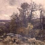 Forêt de Fontainebleau en automne Henri Zuber 1889