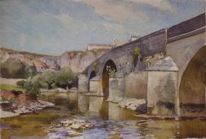 Pont à Mailly (à midi)