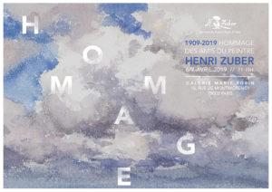 Hommage des amis du peintre Henri Zuber le 6/7 avril 2019