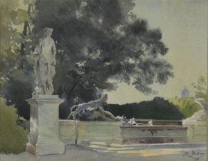 Parc de Versailles, Fontaine du Point du Jour